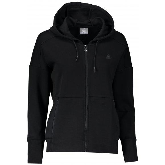 peak knited hoodie long sleeve shirt with long zipper
